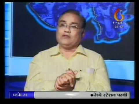 Dr. Bharat Gajjar on Lokmanch Video 2
